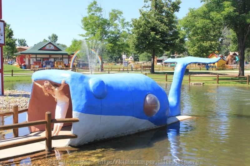 E una balena ...
