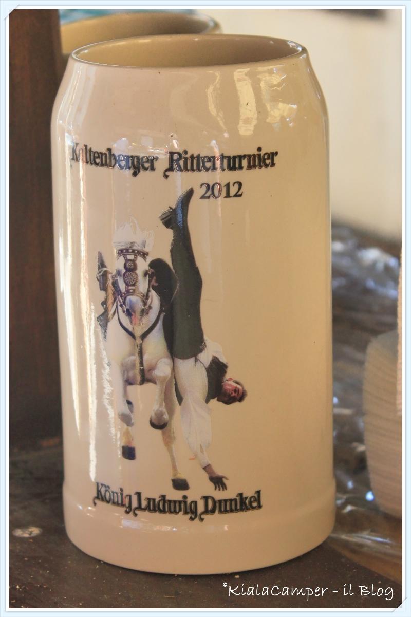 Bicchiere da birra dal Kaltenberger Ritterturnieren