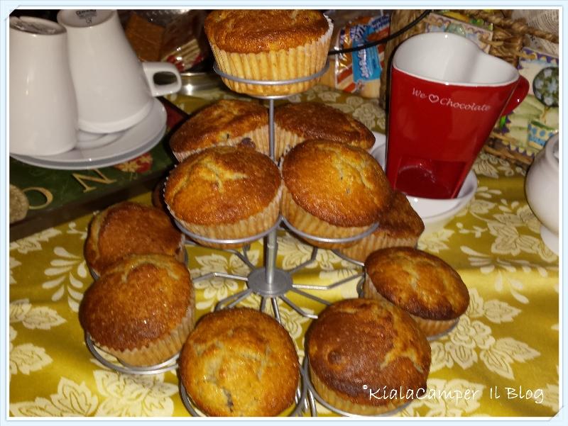 la mia ricetta dei muffins ai frutti rossi