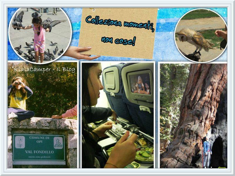 Collage viaggi