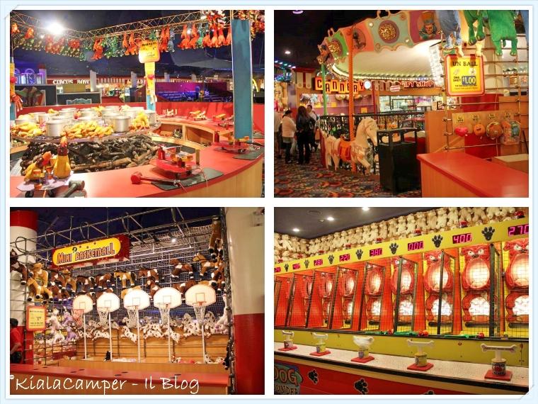 Midway (Circus Circus): gli enormi spazi dedicati ai bambini