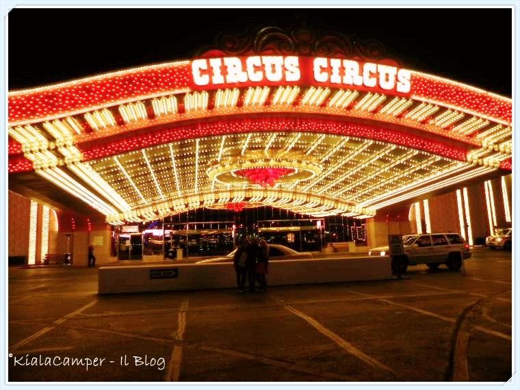 Appena arrivati al Circus Circus