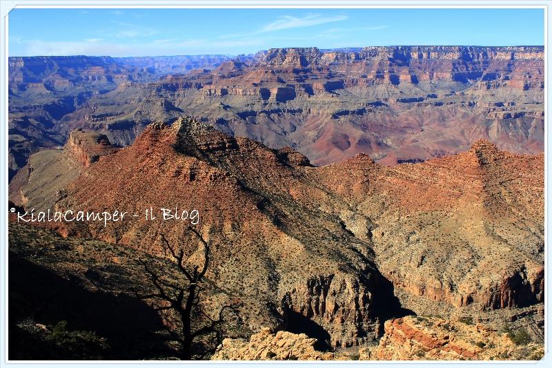 Grand canyon i viaggi di kiala for Grand canyon north rim mappa della cabina